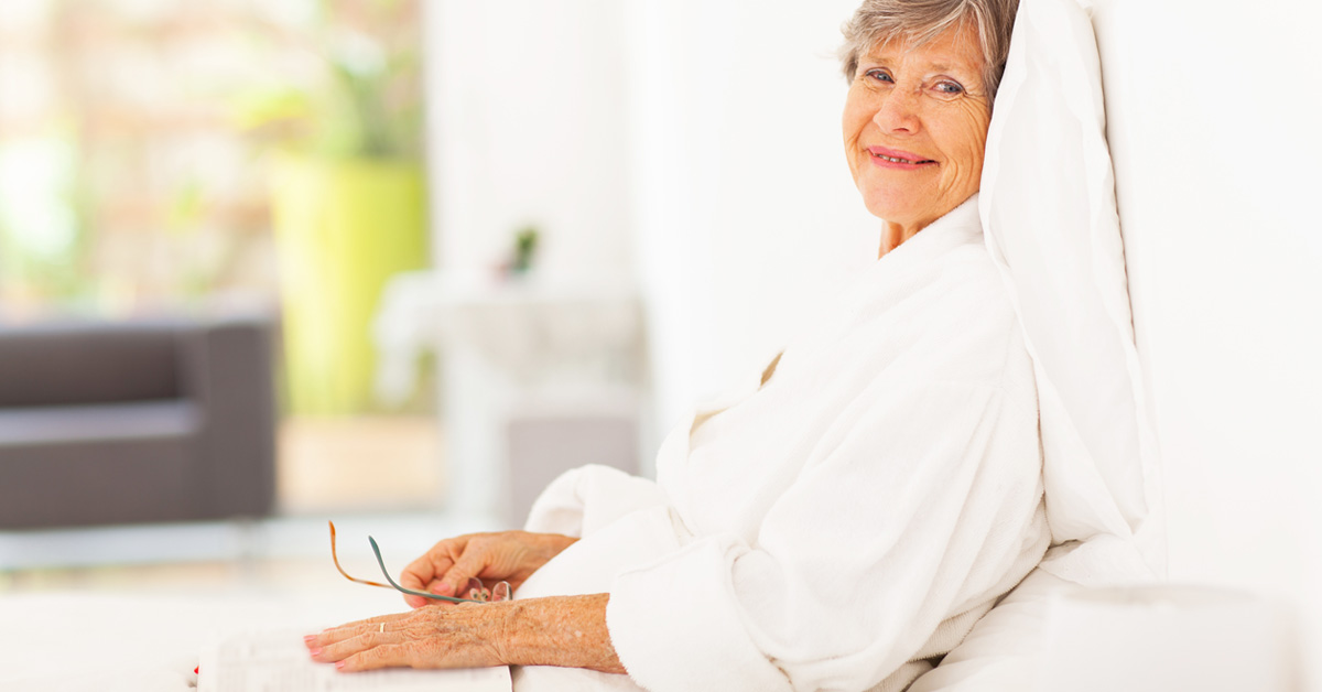 Image Of A Senior Losing Strength During Bed Rest