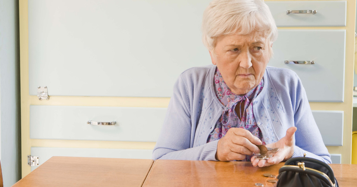 Senior Paying For Home Care